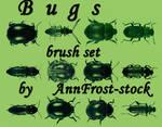 Bugs brush set