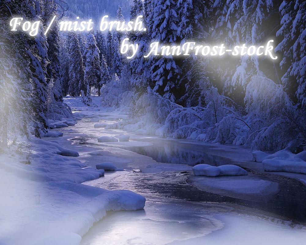 Fog mist brush by AnnFrost-stock