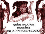Grim reaper brush