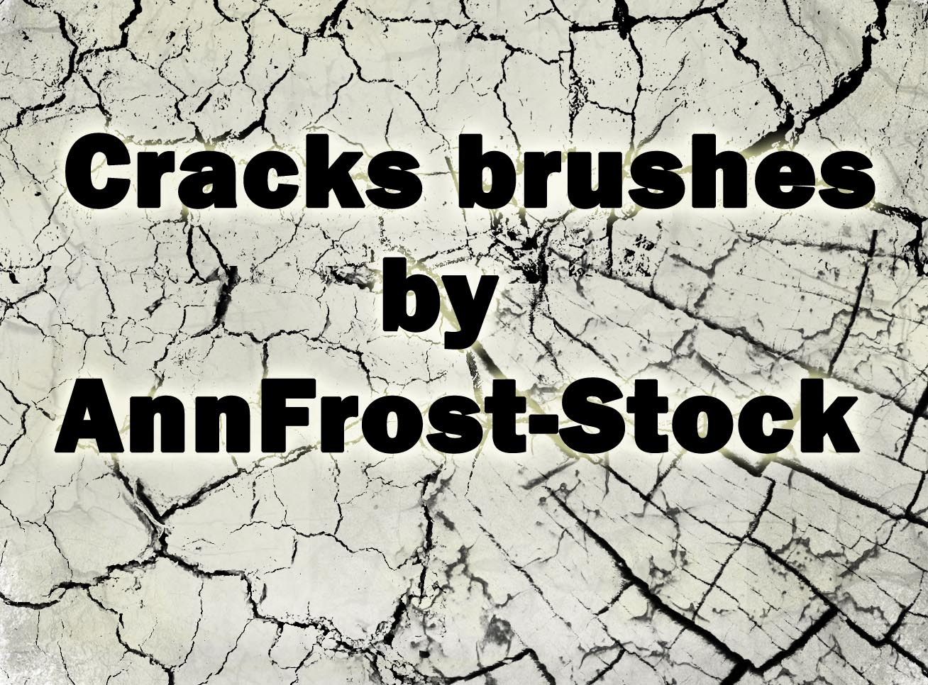 Cracks brush
