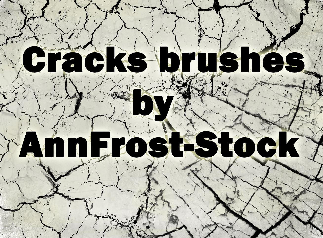 Cracks brush by AnnFrost-stock