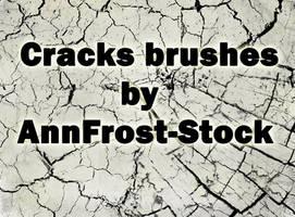 Cracks brush by AnnFrost-stock