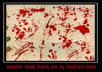 Another blood brush set