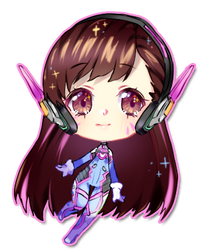 blinking mini cheeb sample - dva