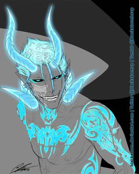 BLEACH: Grimmjow --Hellfire Blue--