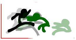 he kicks him ugly D: