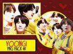 Yoongi Pack PNG