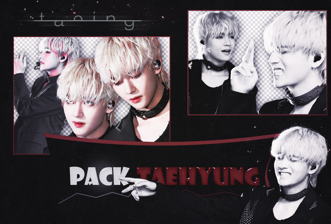 PACK Taehyung PNG | BTS