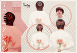PNG PACK | Taehyung Flower #2