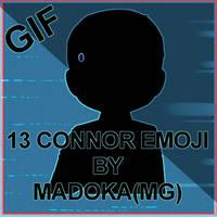 DBH_Connor emoji by MadokaMG