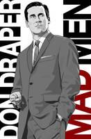 Mad Men - Don Draper Poster by AndrewArizona