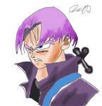 DBZ Future Trunks color