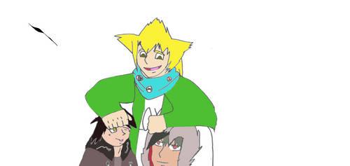 Shuu,Victor and Sam Colored(Art Trade)