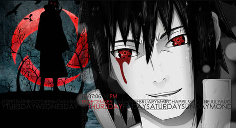 Sasuke Theme  Rainmeter