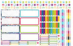 Free Download Stickers Planner 2016 // UCO