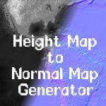 Heightmap to Normalmap Converter