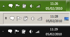 IM tray icon for Win 7