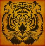 Tribal BigCat Tiger