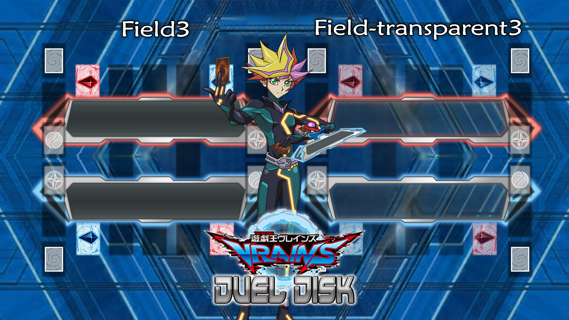 YGOPRO Field3 - Duel Disk VRAINS V1 2 (Download) by