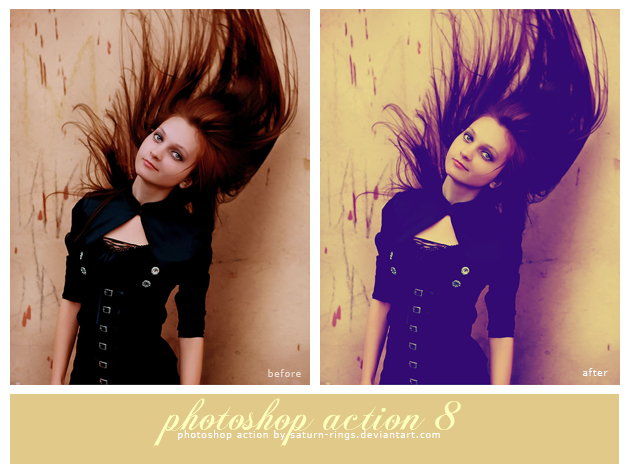 Photoshop Action 8