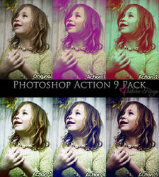 Photoshop Action 9 Pack by saturn-rings