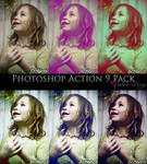 Photoshop Action 9 Pack