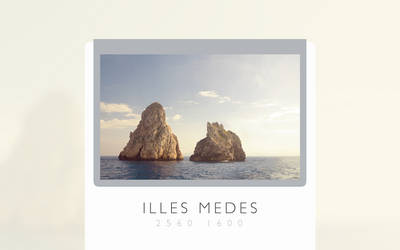 Illes Medes by Goomba4001