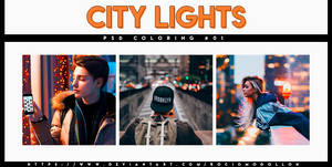 PSD coloring 01 | City Light |