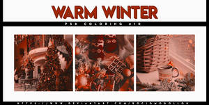 PSD coloring 10   Warm Winter  