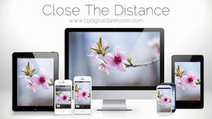 Close The Distance Wallpaper Pack