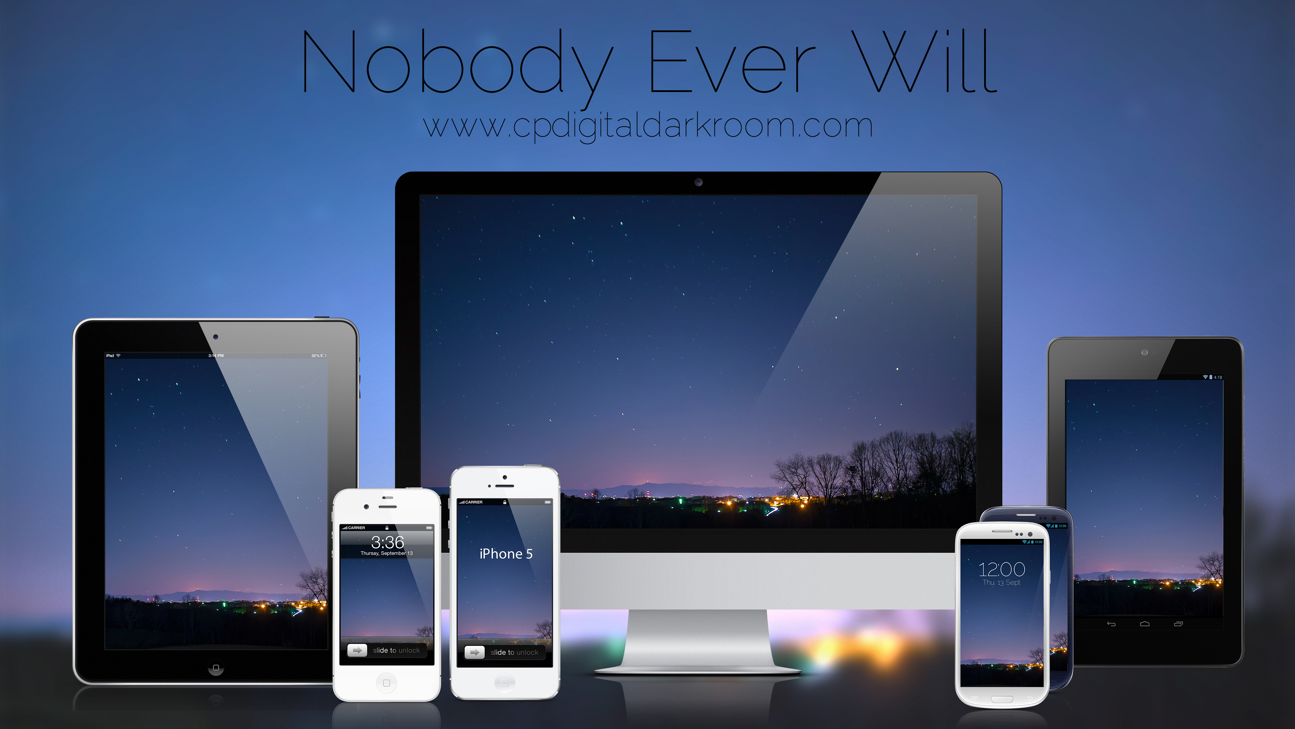 Nobody Ever Will by CPDigitalDarkroom