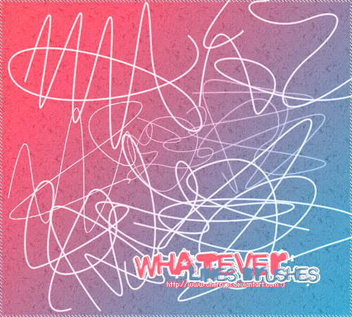 Whatever Lines Brushes