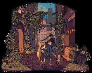Cattyland Pixels by ChippyFish