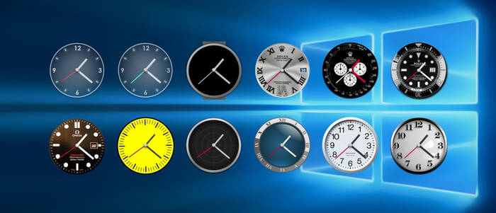 Clock Collection 1.0 by virtual-adam