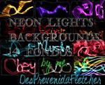 Neon Lights backgrounds.
