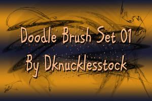 Doodle Brush Set 01