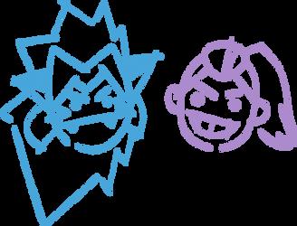 Catra + Adora Doodle