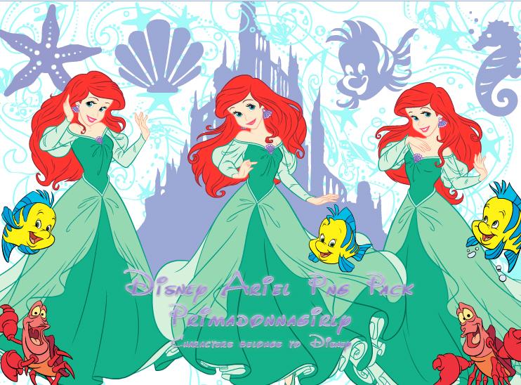 Disney Ariel  Png Pack by Primadonnagirly