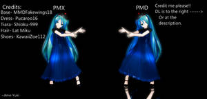 MMD DL: LAT Formal Miku