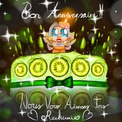 [Gift] Bon Anniversaire, Reikiwie!!