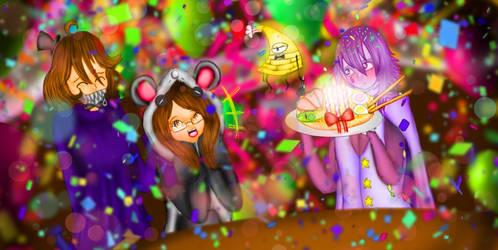 Happy Birthday, MistressWhispy!! ft. Ramen Cake