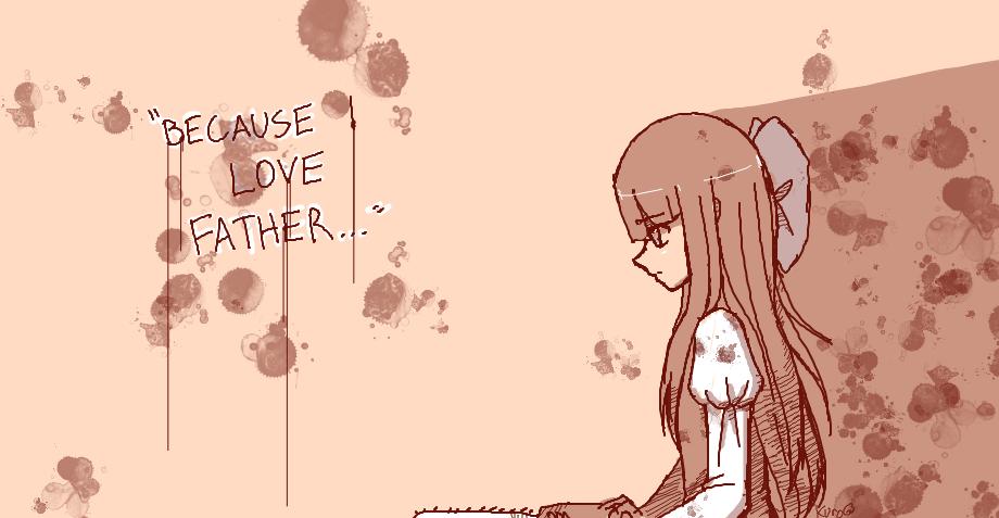 Because I love father... by Kuro-fukurou