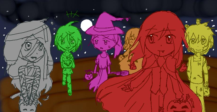 Halloween~ by Kuro-fukurou