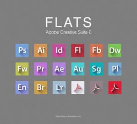 FLATS Adobe CS6 Icons