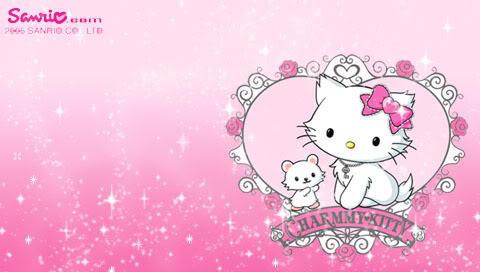 Charmmy Kitty Wallpaper Set