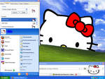 Hello Kitty Xp Theme