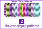 12 Chevron Stripes by Golly Girls