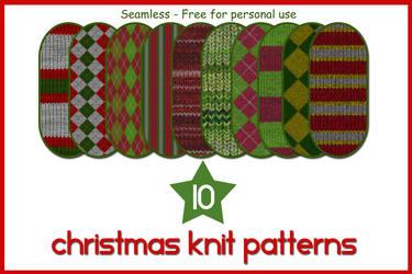 10 Christmas Knit Patterns
