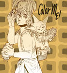 OC Muriel - Free to Color - Lineart ! by KokoroArmy