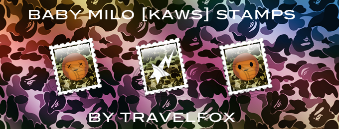 Baby Milo Stamp Set by travelfox